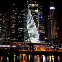Москва-Сити ночью :: Vitalet