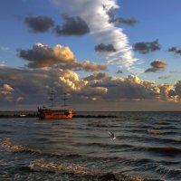 Вечерние облака :: Нилла Шарафан