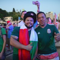 Мексиканцы в России. :: arkadii
