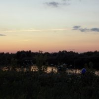 Вечерний пейзаж :: Galina Solovova