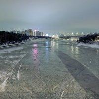 И Моква-река замерзает :: Валерий