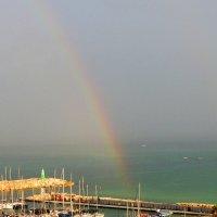 Раскрылась радуга над морем :: Гала
