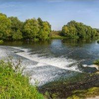 Плотина на реке Осётр :: Виталий Белов