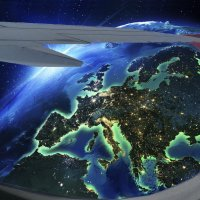Европа внизу :: irina Schwarzer