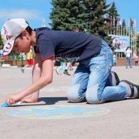 День рисования на асфальте! :: Андрей Заломленков