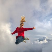 Настроение - выше облаков) :: Светлана Карнаух