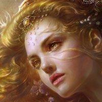Женский портрет :: dindin