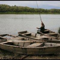ДОН. Старые деревянные лодки. (4) :: Юрий ГУКОВЪ