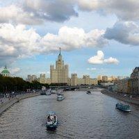 Москва-река. :: Галина Aleksandrova
