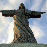 Фигура Иисуса Христа на мысе Гаражау, Мадейра :: Анастасия Богатова