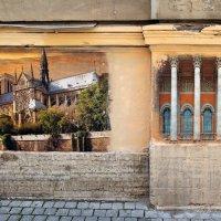 Уличная картинная галерея в переулке Радищева :: skijumper Иванов
