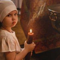 Помощница для батюшки :: SVETLANA BYLOVA