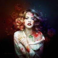 Цветочный арт :: Ольга Стрельцова