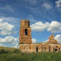 заброшенный храм в Сходнево :: nadne