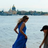 Бегущая по волнам :: Майя Жинка