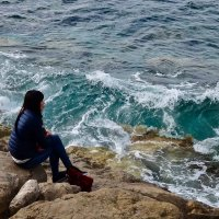 девушка и море :: Елена