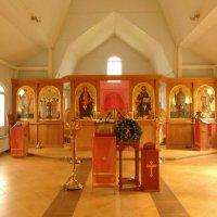Интерьер церкви Николая II в Аннино, в Москве. :: Александр Качалин