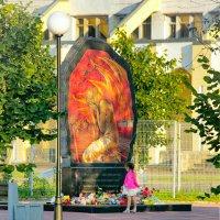 Памятник ленинградским детям, погибшим при эвакуации :: Сергей Кочнев