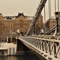 Будапешт в снегу... :: Elena Ророva