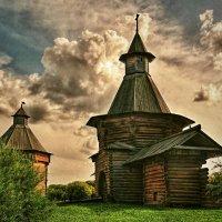Надвратная башня Николо-Карельского монастыря :: anderson2706