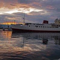 Закат в порту :: Roman Ilnytskyi