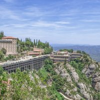 Монастырь Монтсеррат, Барселона. :: Елена Елена
