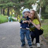 Счастливая мама- счастливый малыш :: Ольга Касьянова