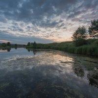 Рассвет на речке Буянке. :: Виктор Евстратов