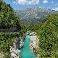 Изумрудная река Соча. :: Elena Ророva