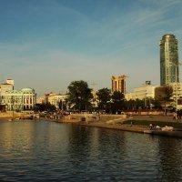 Плотина городского пруда. :: sav-al-v Савченко