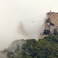 Прогулка в облаках на высоте 1234 метра :: Ольга Голубева
