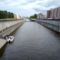 Обводный канал в августе месяце. :: Светлана Калмыкова