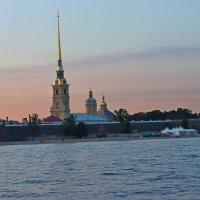 Вид на Петропавсловскую крепость :: Елена Красильникова