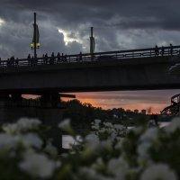 Закат над Великой :: Ольга Лиманская