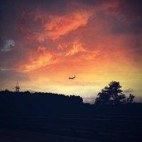Мечты, далекие как самолёт в красивом небе :: Ксения OKDMUSE