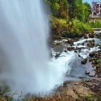 утро у водопада :: Elena Wymann