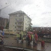 Дождь за окнм :: Юрий Кирьянов