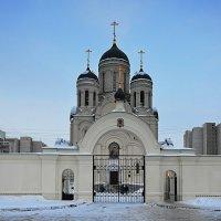 Храм Божией Матери Утолия моя печали Марьино... :: Наташа *****