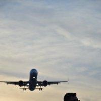 Самолет в небе :: Артур Ерещенко