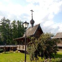 Православная часовня в Невском лесопарке. :: Светлана Калмыкова