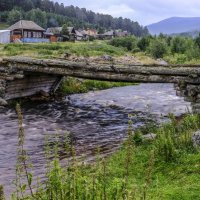 переход через реку Карагайка :: Георгий А