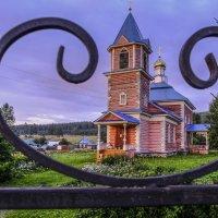 деревянная церковь в селе Тюлюк :: Георгий А