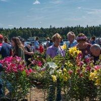 На ярмарке сыра были и цветы. :: Владимир Безбородов