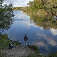 Семейная рыбалка на Десне :: Евгений