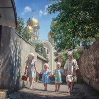 Дорога в храм :: Надежда Антонова