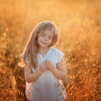 Пшеница на закате :: Марина Парахина