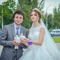 Свадебные голуби - символ любви :: Дмитрий Фотограф