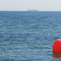 Пляжный буй :: Александр Скамо