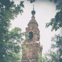 Колокольня Головинского монастыря :: Екатерина Рябинина