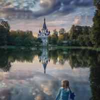 Закат солнца :: Надежда Антонова
